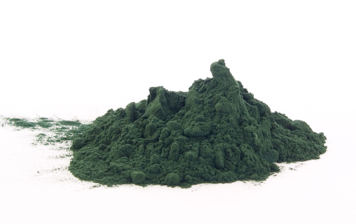 green-ingredient-powder
